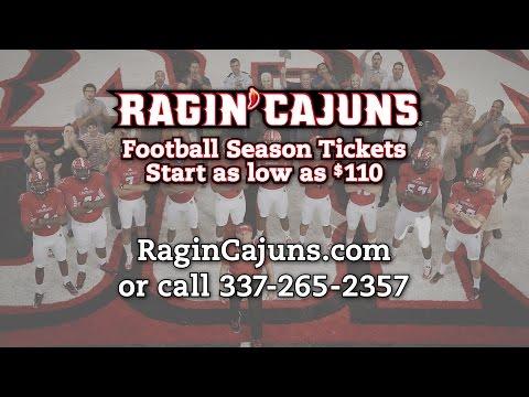 Louisiana Ragin' Cajuns Football Season Tickets