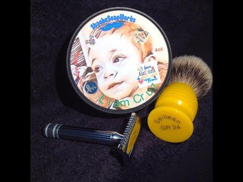 Stache Soap Works Liam Cruz - Fatip Grande - Fine L'orange Noir