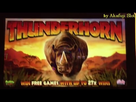 "THUNDER HORN "" First Attempt Bet $2 and $4 at San Manuel Casino"