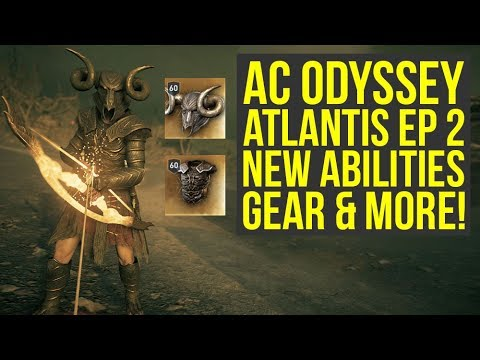 Assassin S Creed Odyssey Fate Of Atlantis New Armor Abilities In