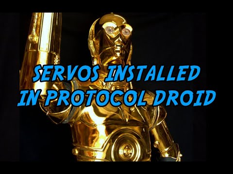 C3PO Droid Robot Automation Demonstration