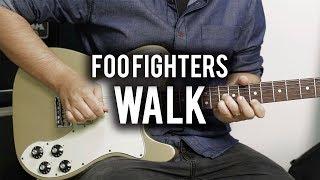 Foo Fighters - Walk - Guitar Cover - Fender Chris Shiflett Telecaster - Gibson ES335