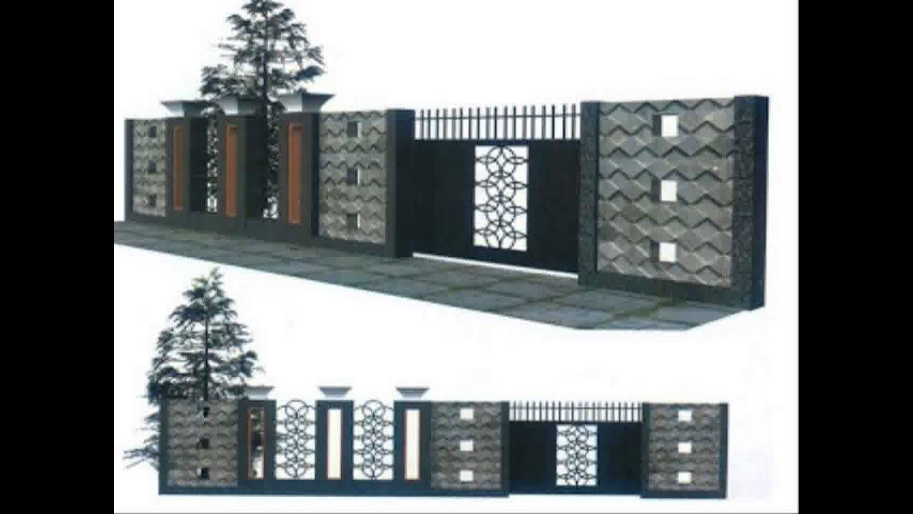 Model Pagar Tembok Rumah Minimalispaling Di Minati Saat Ini Youtube