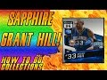 SAPPHIRE GRANT HILL! INSANE STATS! MAGIC COLLECTION COMPLETE (NBA 2K17 MyTeam Opening)