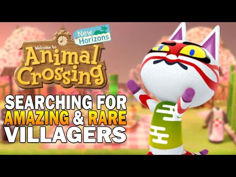 The Hunt For Amazing Villagers! Mystery Island Theory Testing! Animal Crossing New Horizons