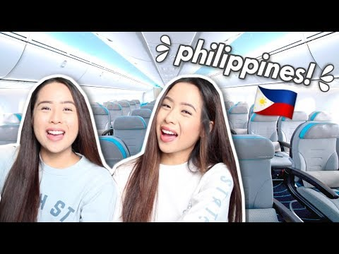 TRAVELLING TO THE PHILIPPINES! | Caleon Twins