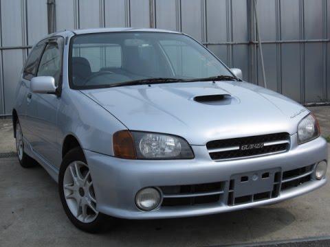 Toyota Starlet Glanza V  Stock No 3009