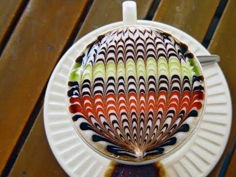 Coffee Art in Thailand