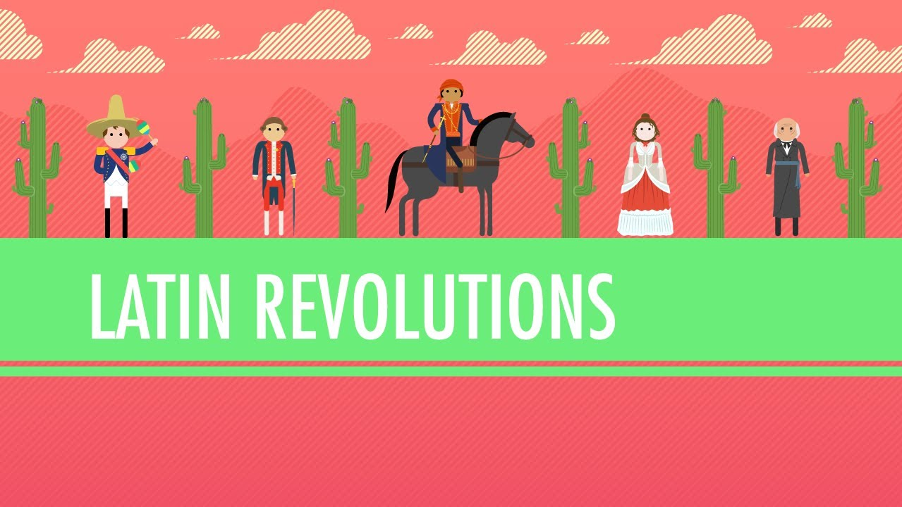 hight resolution of Latin American Revolutions: Crash Course World History #31 - YouTube