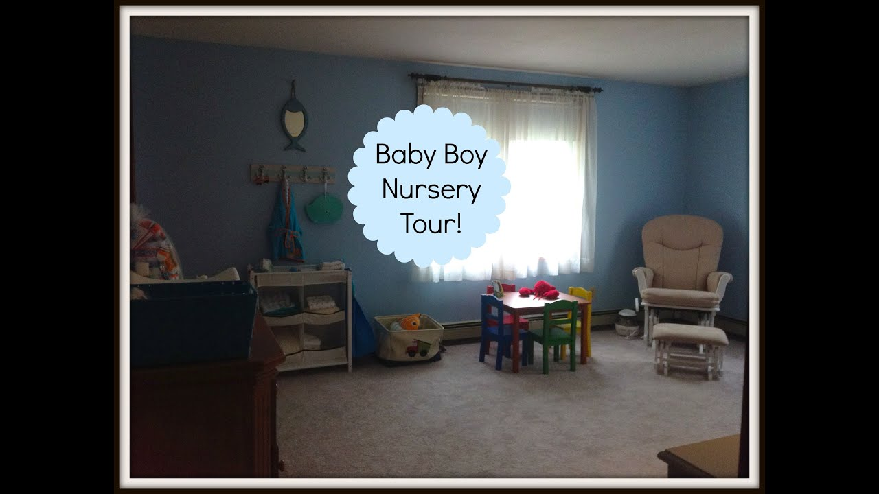 Baby Boy's Nursery Tour! Youtube