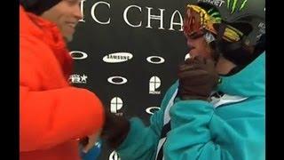 TTR Tricks- Torstein Horgmo snowboarding at Arctic Challenge