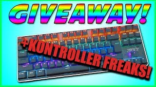 GAMING KEYBOARD AND KONTROLLER FREAKS GIVEAWAY! + The Gta5 modded account
