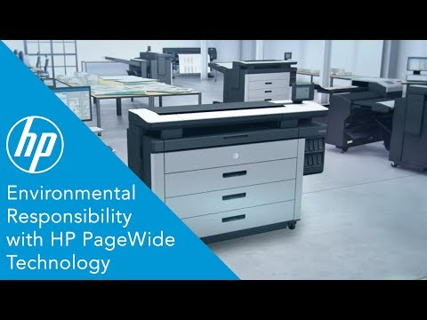 HP PageWide Technology is the industry's most energy-efficient printing