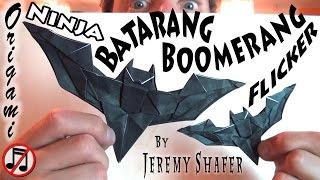 Batarang Boomerang Flicker (no music)