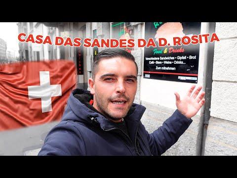 Onde comer as melhores sandes em Zurique Suiça na D.Rosita claro