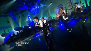 AJ - Wipe the Tears, 에이제이 - 눈물을 닦고, Music Core 20090530