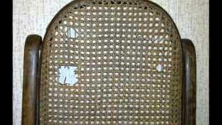 Перетяжка ротангом реставрация кресла Thonet.(Сайт автора : http://www.joiners-repair.com/ Реставрация венской мебели , стульев и кресел тонет. Восстановление плетеног..., 2014-04-18T10:27:47.000Z)