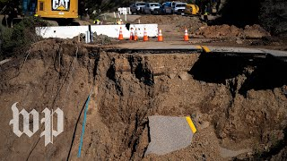 Why repairing California's iconic Highway 1 is becoming harder