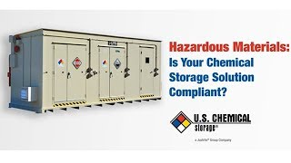 Is Your Chemical Storage Solution Compliant?