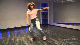 Ирина Антипова - урок 3: видео танец хаус