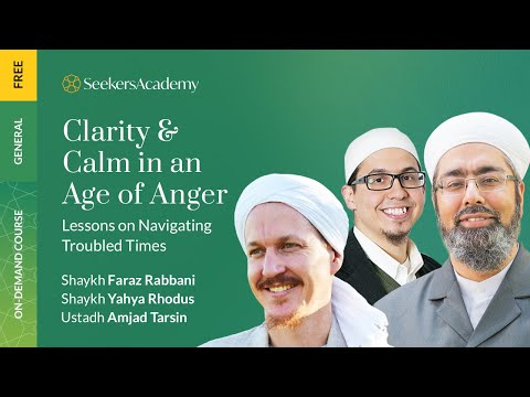 Living in the Moment and Our Duty to Serve Creation - Shaykh Yahya Rhodus - Age of Anger Tour