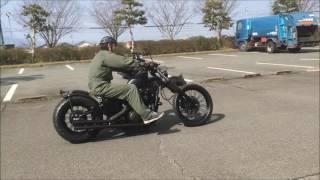 スティード400/グラファイトロッド         ST400 faction ファクション アメリカン カスタム チョッパー バイク オールドスクール thumbnail