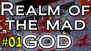 Realm of the Mad God Gameplay - Let's Steam 1/3