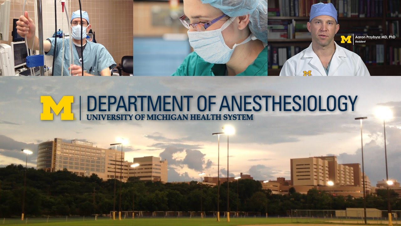 Michigan Anesthesiology - Residency Program (2015 Version)