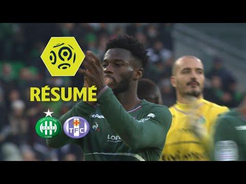 AS Saint-Etienne - Toulouse FC (2-0)  - Résumé - (ASSE - TFC) / 2017-18
