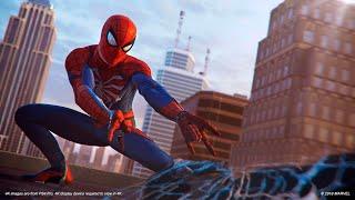 Spider-Man PS4 - Web Swinging - Nickelback Hero