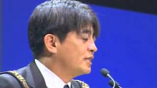【安里繁信】伝説のJC会頭受諾スピーチ2008 in 浜松