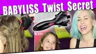 Le Twist Secret de babyliss : Test & Tutos coiffure