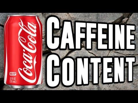 Caffeine Content Of Popular Sodas Compared