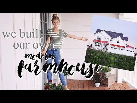 HOME TOUR: Our Self-Built Modern Farmhouse!