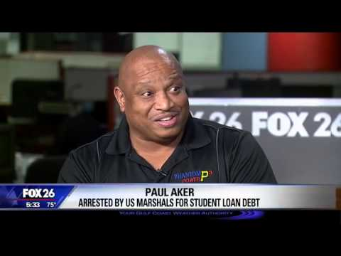 HOUSTON MAN ARRESTED BY US MARSHAL FOR NOT PAYING OLD STUDENT LOAN!