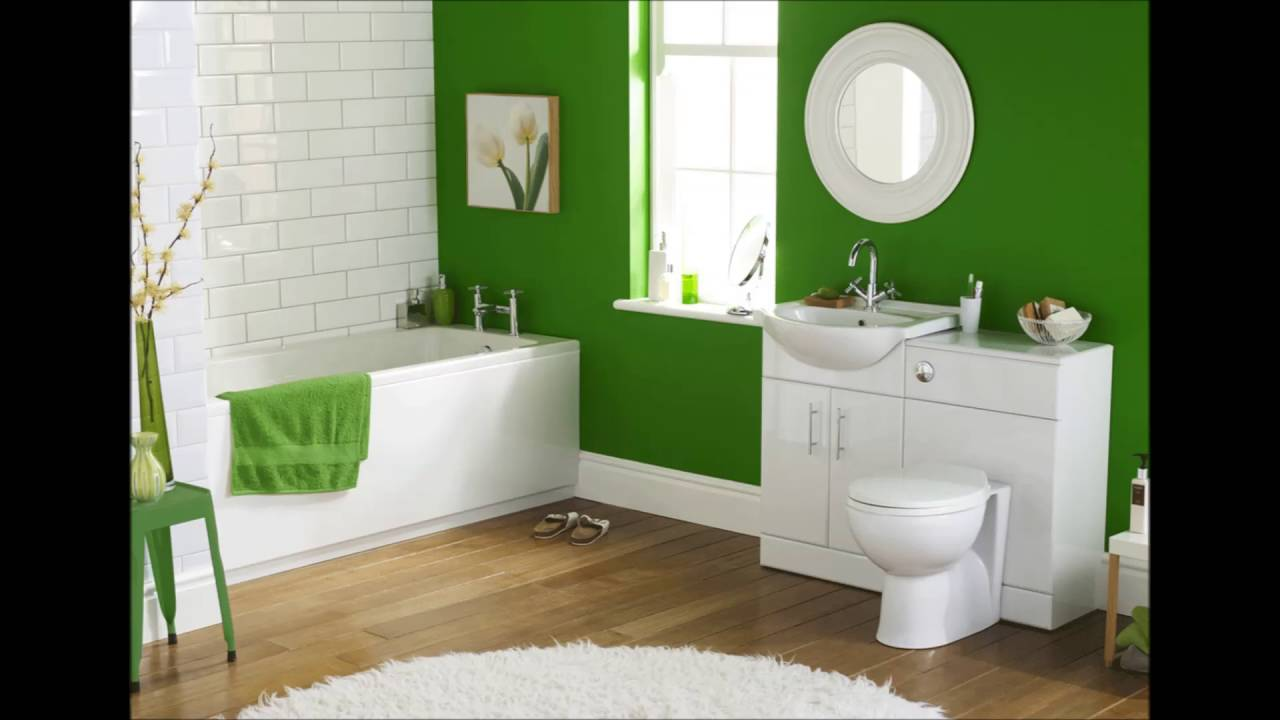 Green toilet design youtube for Green and gray bathroom designs