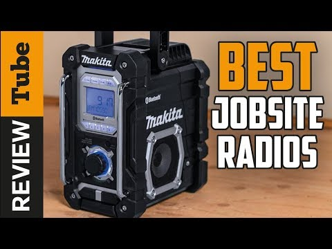 ✅Jobsite Radio: Best Jobsite Radios 2019 (Buying Guide)