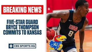 BREAKING: Five-star Bryce Thompson commits to KANSAS | CBS Sports HQ