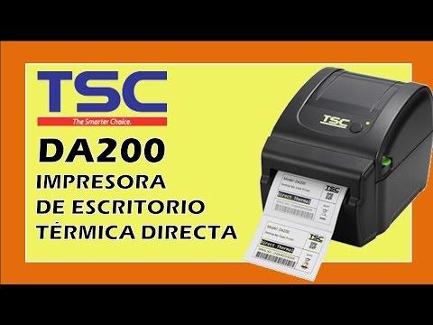 Tsc Da200 Impresora De Etiquetas Para Env 237 Os Y Paqueteras