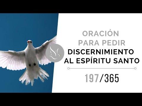 Oración para pedir discernimiento al Espíritu Santo