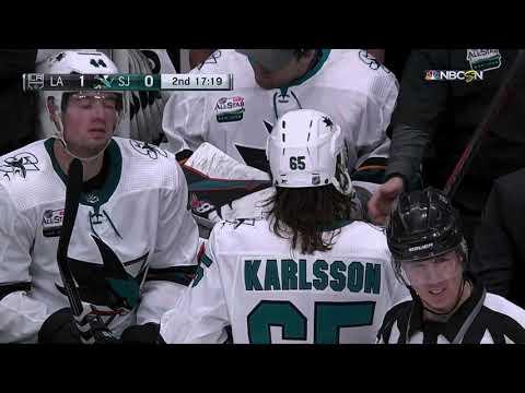 Erik Karlsson hit on Austin Wagner [2 game suspension]