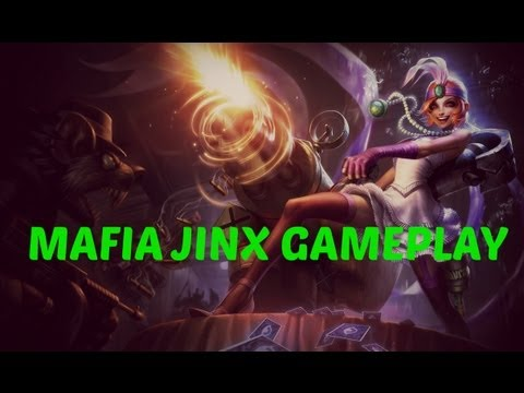 NEW CHAMPION - Mafia Jinx The Loose Cannon Gameplay - League of Legends