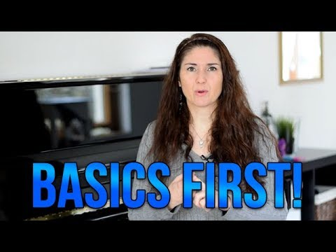 Basics First!!! You MUST Do This BEFORE You Can Become A Great Singer!