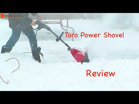 Toro Power Shovel Electric Snow Thrower Review 38361 Youtube