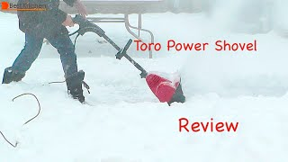 Toro Power Shovel Electric Snow Thrower Review- 38361