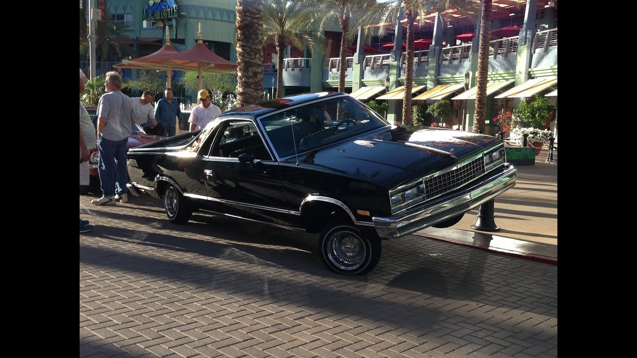 El Camino With Hydraulics : Chevy el camino low rider with hydraulics at westgate hot