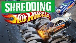 Shredding Hot Wheels Cars (and more) -  Shredding Stuff