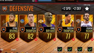 MOST DISGUSTING TEAM EVER #2 (CANCER ALERT 😷) | NBA LIVE MOBILE!