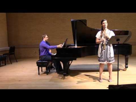 Villa-Lobos Fantasia for Soprano Saxophone and Piano