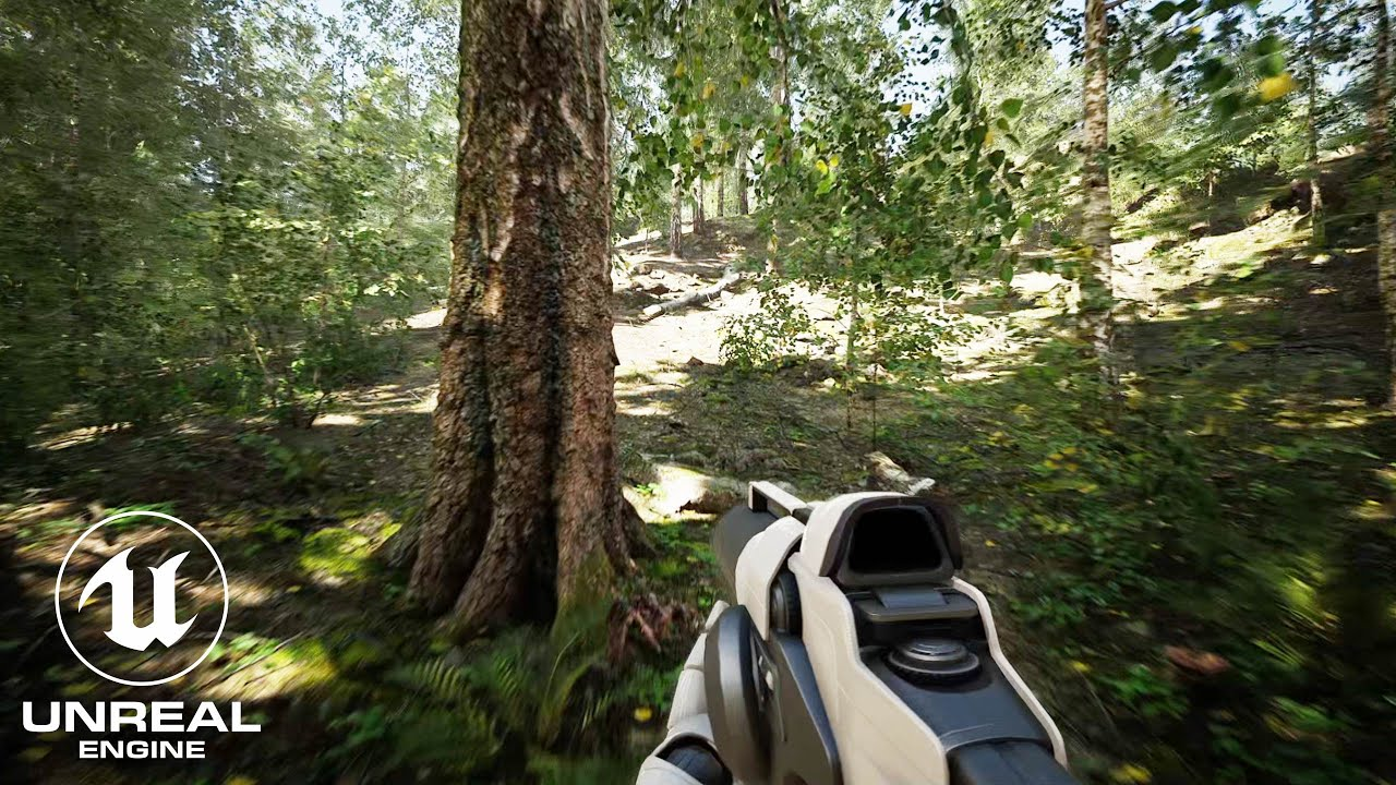 Download Unreal Engine 4 RTX 3090 Realistic Forest